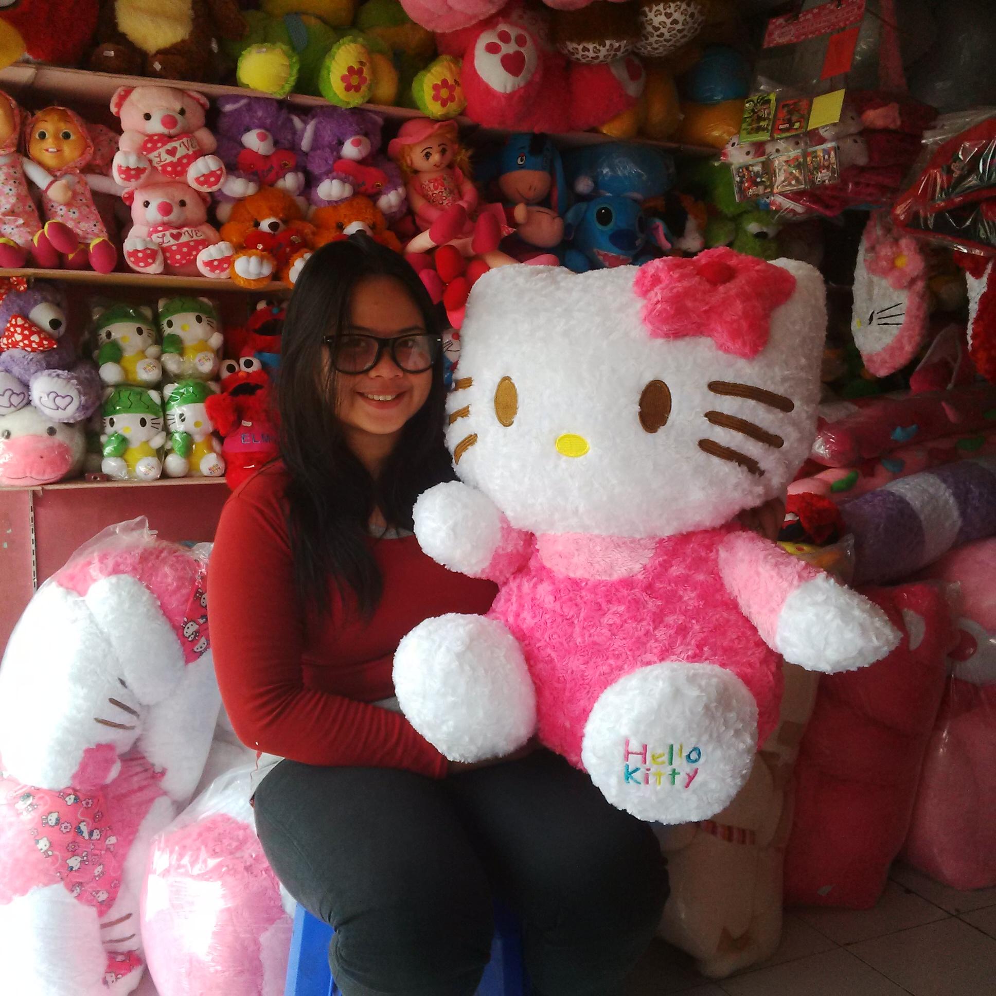 Boneka Hello Kitty Jumbo Love Daftar Harga Terbaru Dan Terlengkap 1 Jual Duduk Eldatoys Tokopedia Harganya