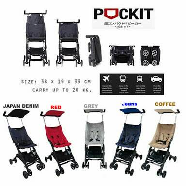 Stroller Cocolatte New Pockit (include sarung)