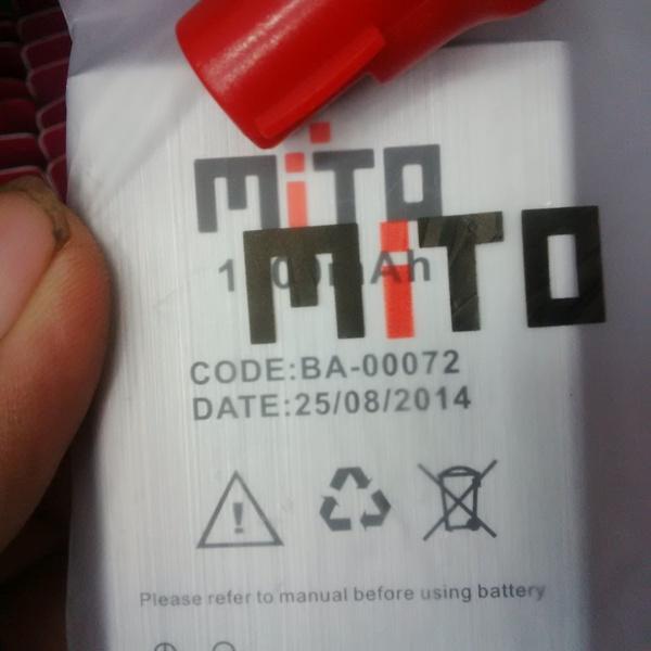 Jual Baterai Battery Mito A330 Ba 00072 Original 100