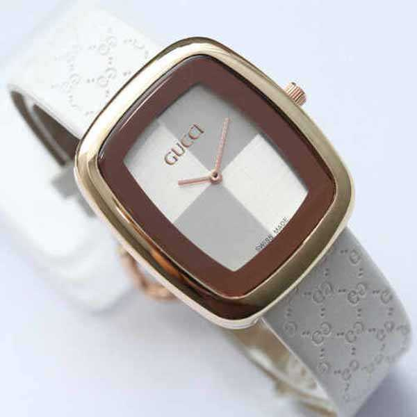 GCL01 Jam Tangan Wanita Gucci Catur Kulit Leather Ladies Watch