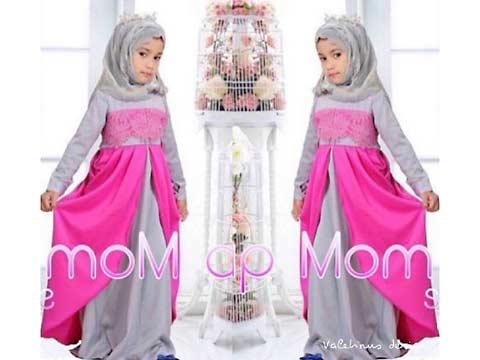 Busana Muslim Anak Hijab Kids Queen HK8532