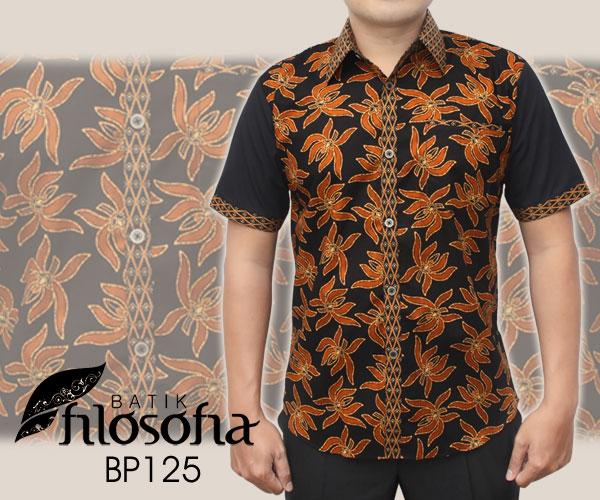 Toko Pedia Baju Batik: Jual Baju Batik Modern BP125 - Batik Filosofia