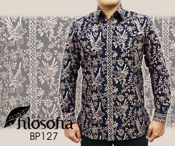 Toko Pedia Baju Batik: Jual Baju Batik Pria BP127 - Batik Filosofia