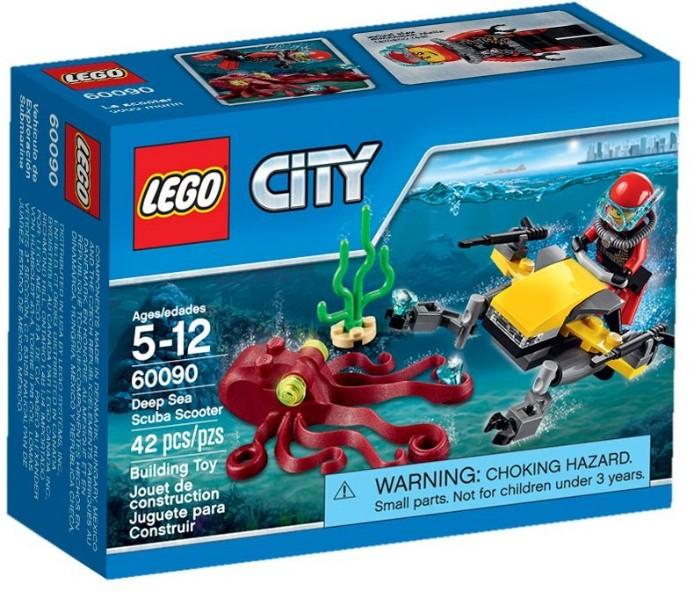 LEGO # 60090 CITY DEEP SEA SCUBA SCOOTER