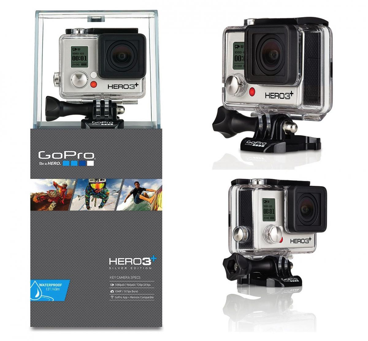 jual gopro hero 3 silver edition cameraindo tokopedia. Black Bedroom Furniture Sets. Home Design Ideas