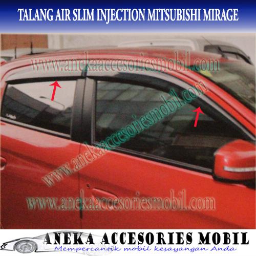 Jual Talang Air/Side Visor Slim Injection Mitsubishi Mirage - ANEKA ACCMO   Tokopedia