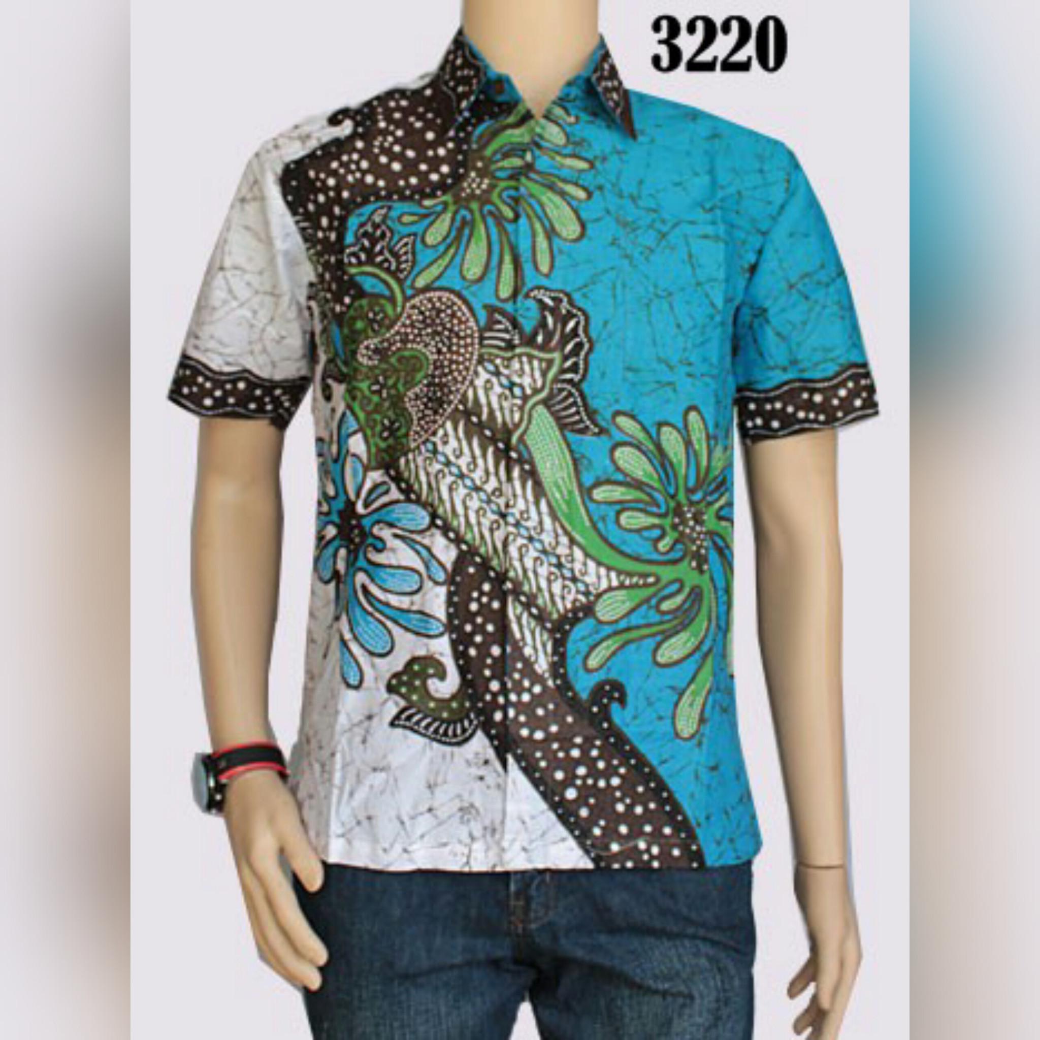Baju Batik Kerja Cowok: Baju Batik 2015 Pria Dan Wanita Modern Jual Busana