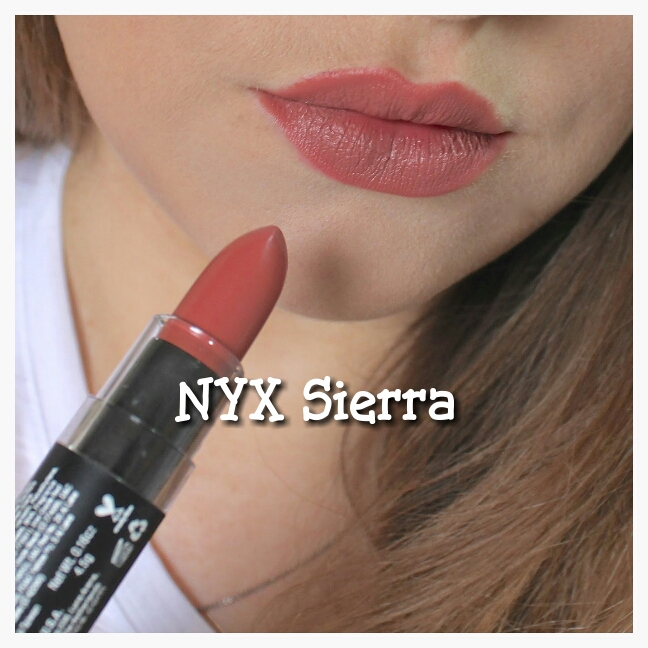 Harga Nyx Matte Lipstick Sierra | The Art Of Beauty