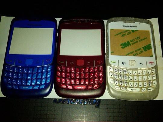 Jual Cassing Fullset Transparan Blackberry 8520/8530 ...