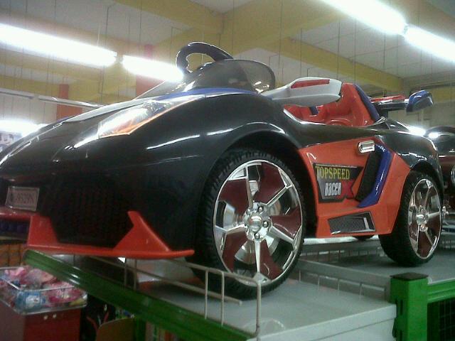 Mobil Mainan Aki Pliko PK-9329