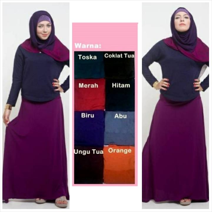 ROK MUSLIM WANITA MURAH MERIAH 014 / DRESS / HIJAB / GAMIS