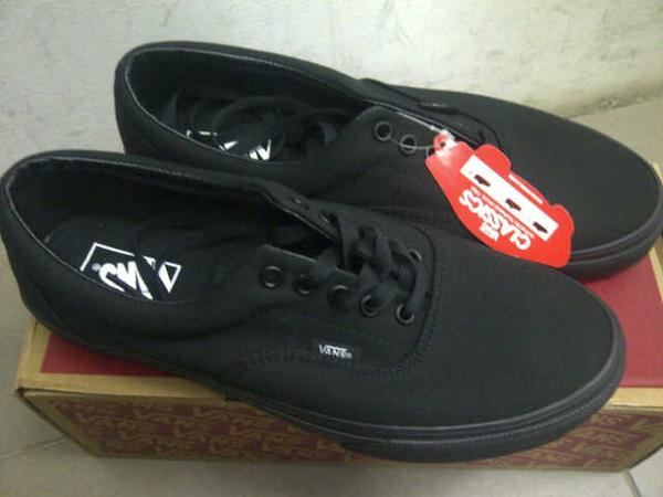 jual vans era full black