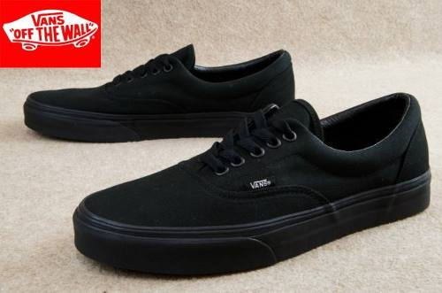 vans era all black original