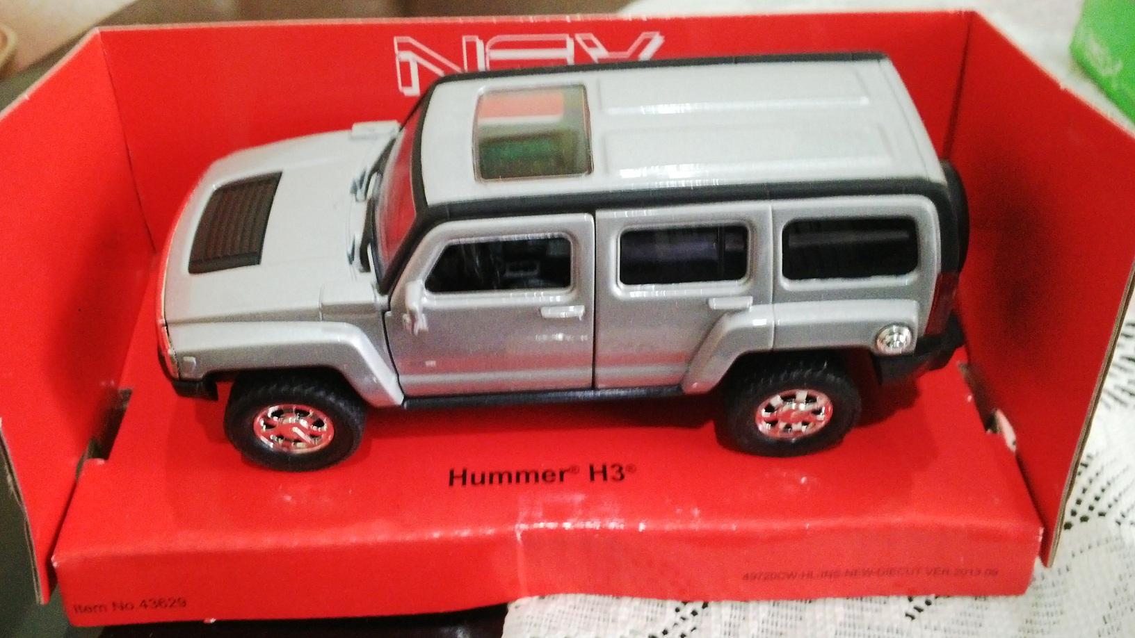 harga Welly Nex - Hummer H3 (Silver) Tokopedia.com