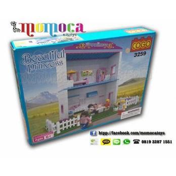 harga lego cogo beautifull princess 3259 Tokopedia.com