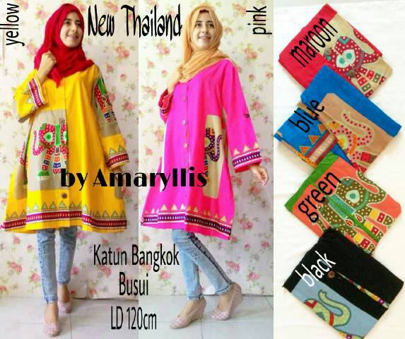 suppliet baju hijab : new thailand / baju bigsize