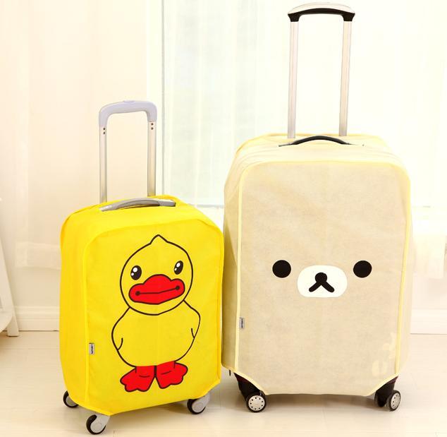 koper unik, sarung koper unik, travelling, sunday traveling