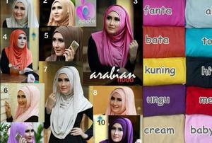 Hijab Syari Jilbab Arabian Hoodie , Hodie Arab ( High Quality )