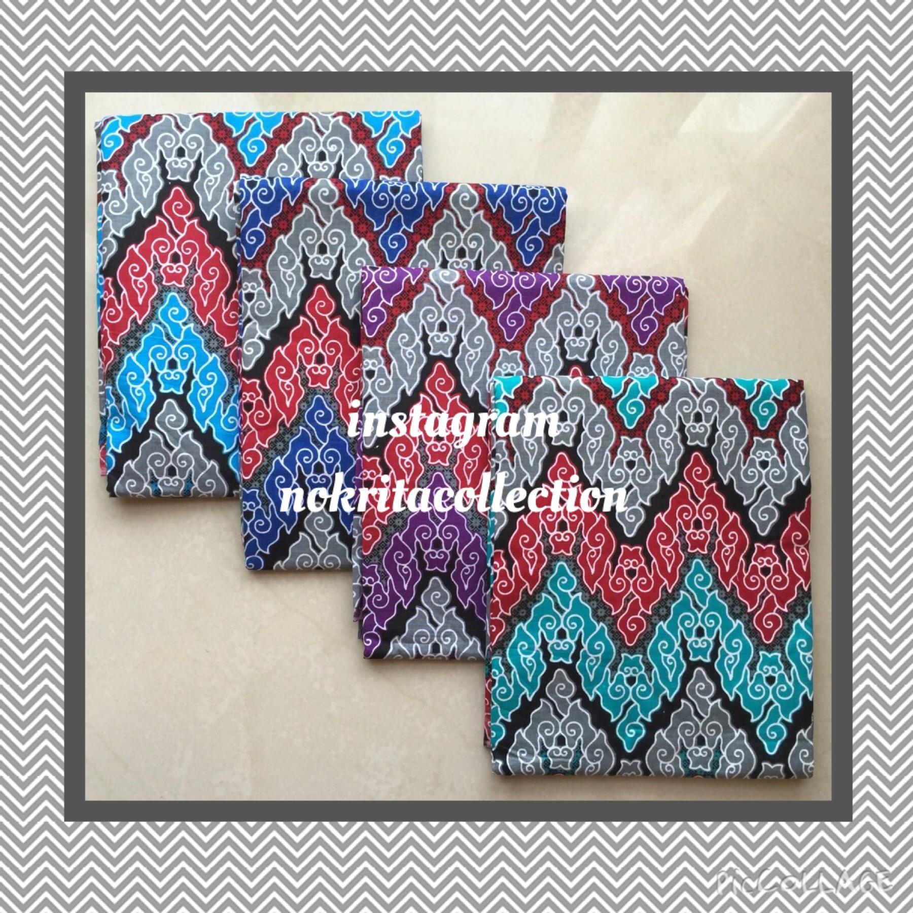Jual Kain Batik Rang Rang Motif Mega Mendung Printing