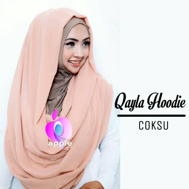 Qayla Hoodie by Apple Hijab - Hijab Instant