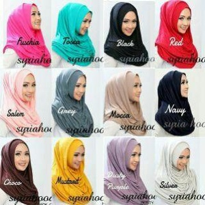 Hijab Long Nabila Versi Premium Alaia Hoodie Mecca