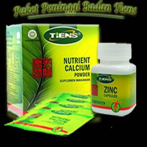 harga zinc dan susu calsium Tokopedia.com