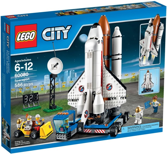 LEGO # 60080 CITY SPACEPORT