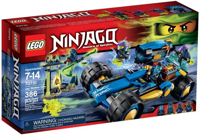 LEGO # 70731 NINJAGO JAY WALKER ONE