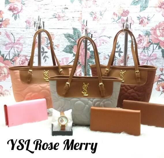 Harga Tas Lokal / Rose Bag / Ysl Rose Merry di Jakarta Barat - DKI ...