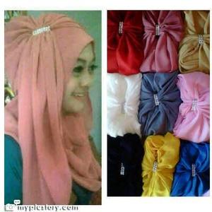 Hijab/Jilbab Instant Ayesha / Jilbab Instan Patin Ayesha