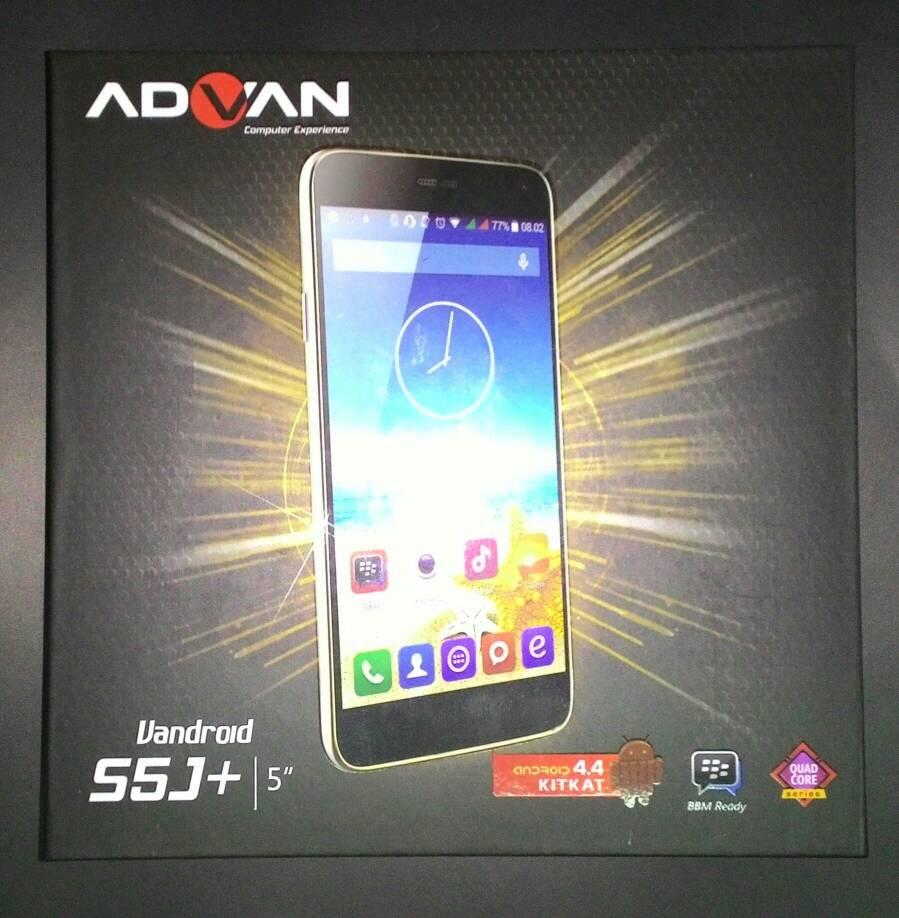 Jual Advan Vandroid S5j Ram 1gb Advance Store Tokopedia 8gb