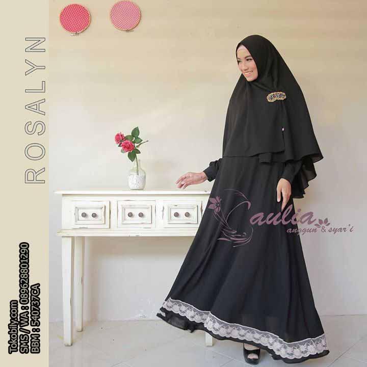 Jual Baju Pesta Wanita Baju Muslim Wanita Rumaisha