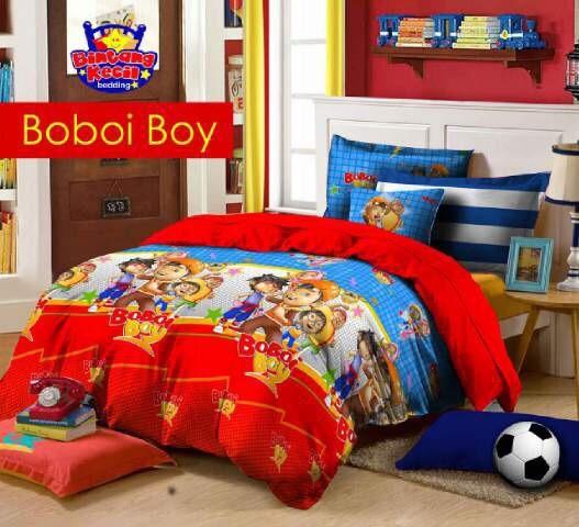 Jual Sprei Katun Loakal Cvc Star Boboiboy Bobobi Boy 160x200 180x200 Rumah Dan Homeset Tokopedia
