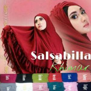 Hijab Khimar Salsabila / Jilbab Salsabila