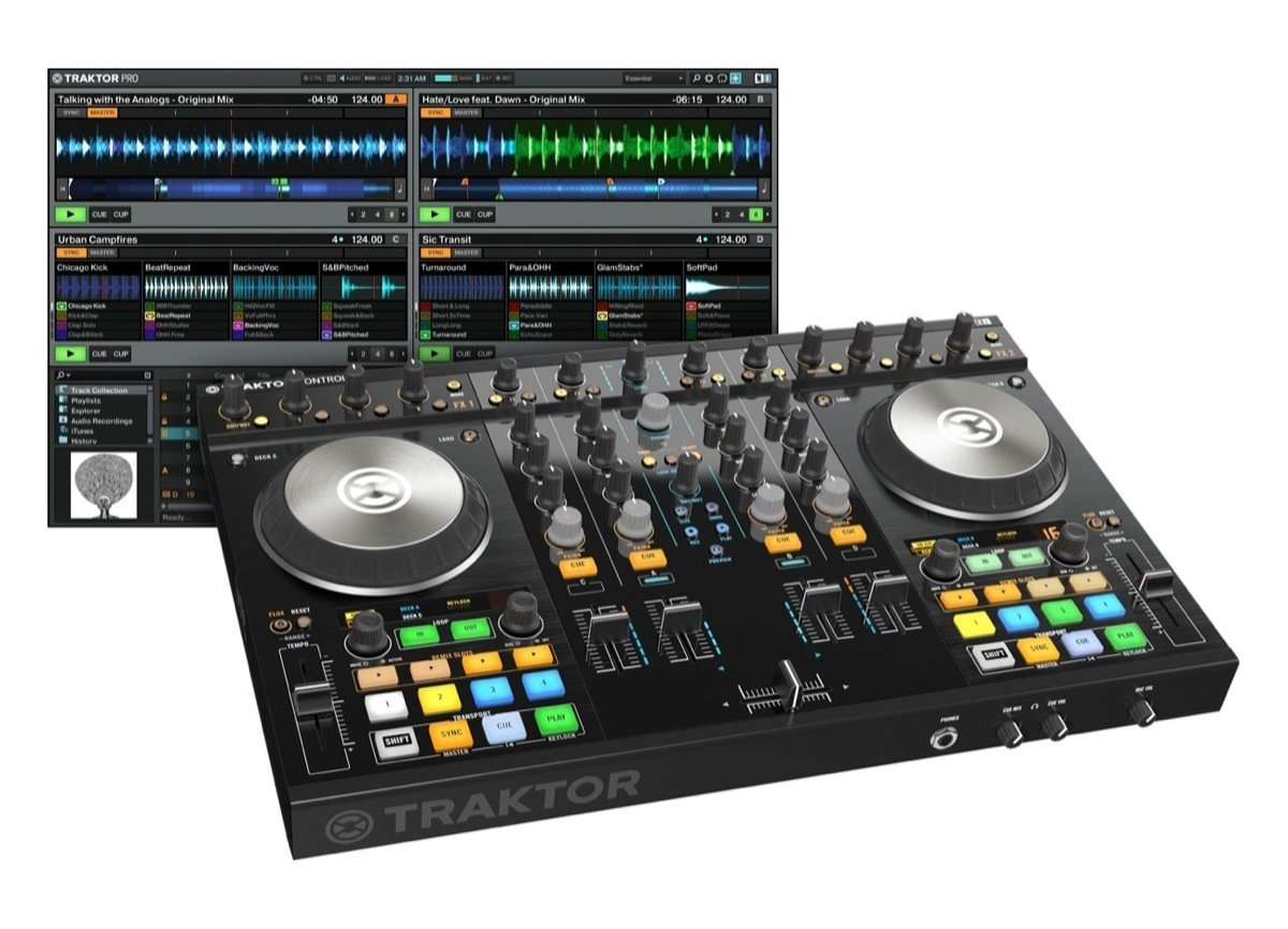 harga NATIVE INSTRUMENTS TRAKTOR S4 MK2 Tokopedia.com