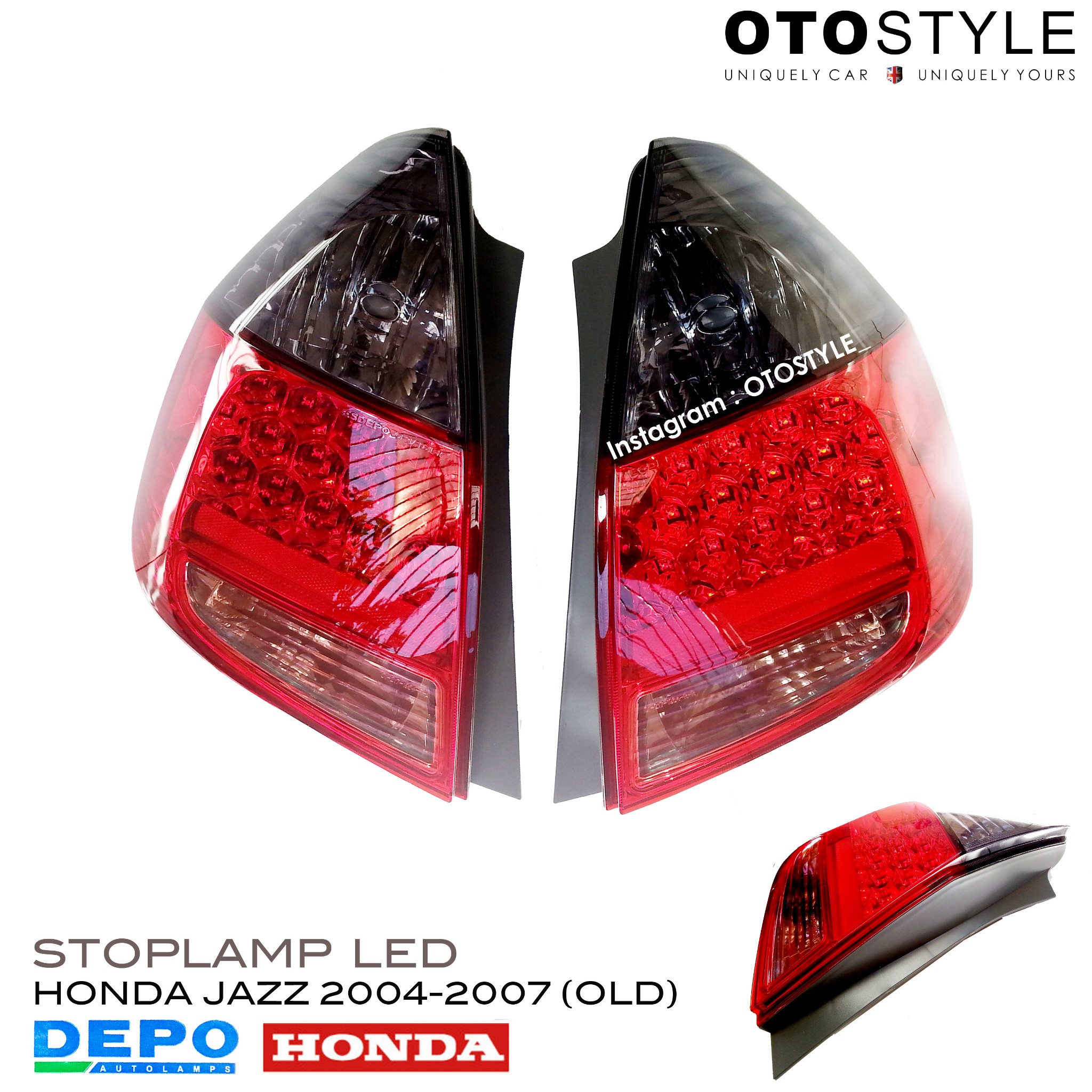Stop Lamp Jazz  old 2004-2007 LED  DEPO - Made in Taiwan