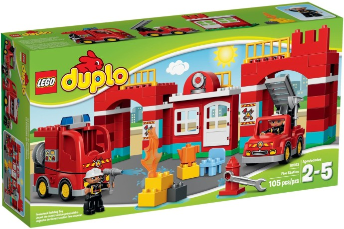 LEGO # 10593 DUPLO FIRE STATION