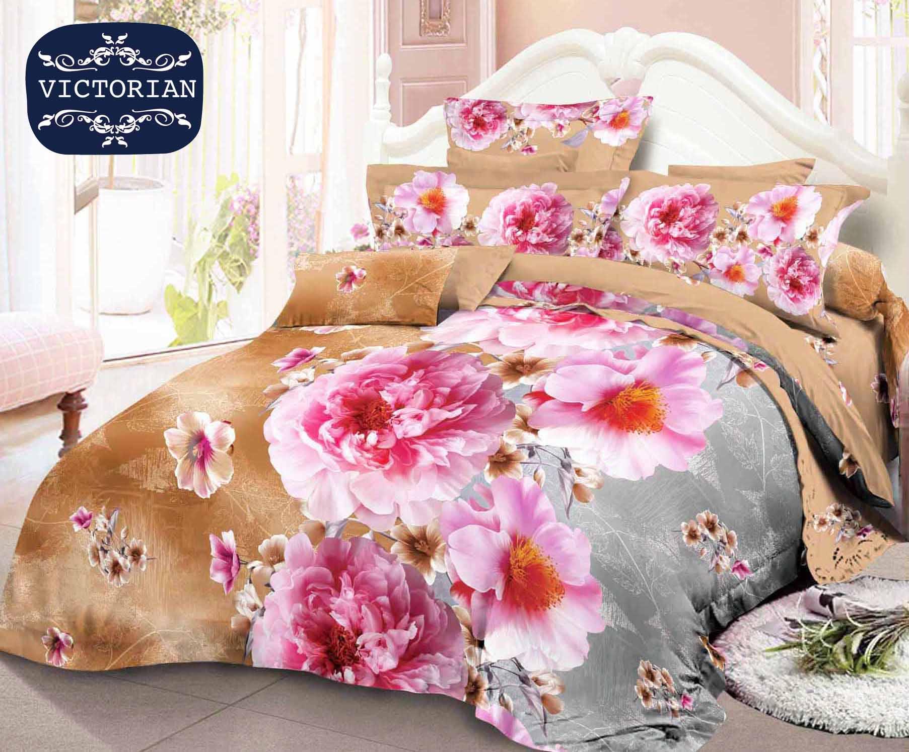 Sprei Queen Uk 160x200 Kintakun 3d Santika Deluxe Motif Nicolia Dluxe 160 X 200 B2 Siena Luxury B4 Spring Beauty Source Bed Cover Srt 180x200 Victorian