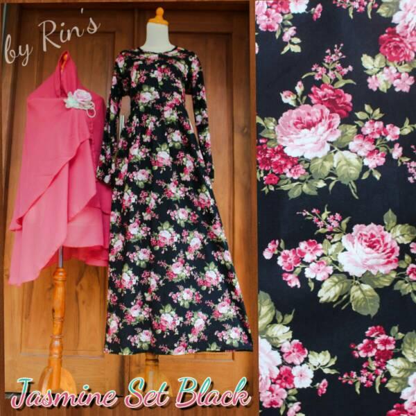 Jual Supplier Baju Gamis Jasmine Syari Ori By Rins
