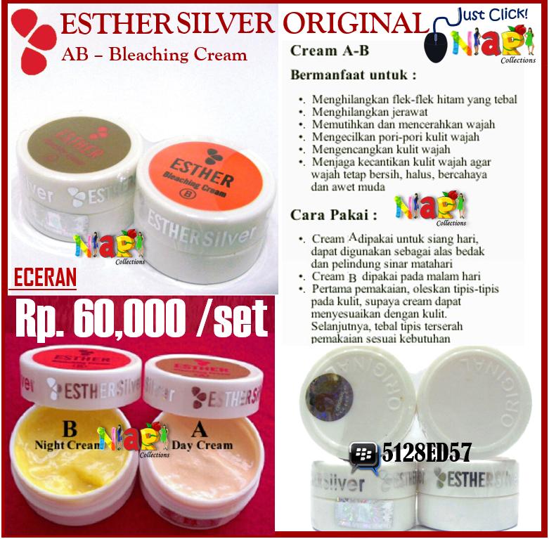 Esther Silver Bleaching Cream Esther Silver Bleaching Cream