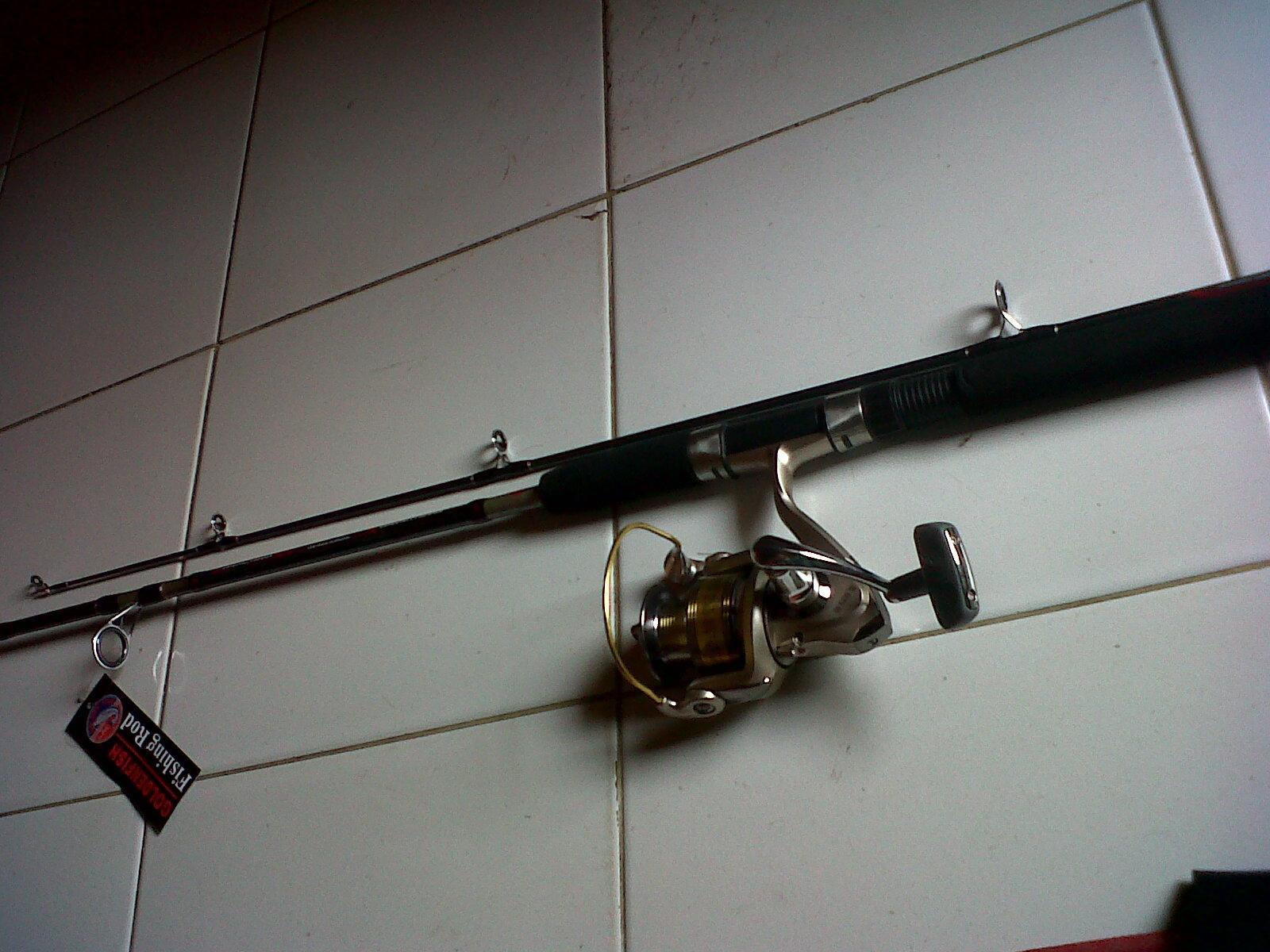 Jual Set Pancing Golden Fish Megatron 8 1 Bearings