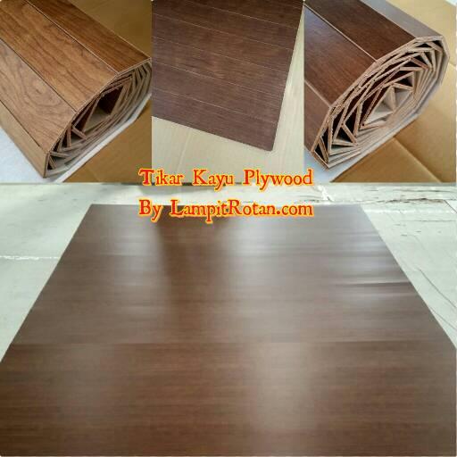 Jual Tikar Kayu Plywood Carpet Lampit Plywood Karpet