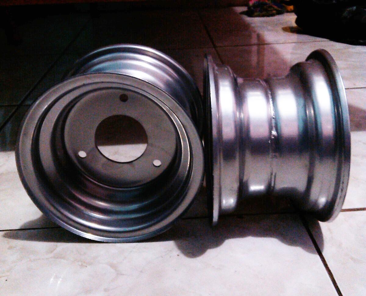 Jual Velg Ban Kendaraan Motor ATV Ring 6 Standard Yahud