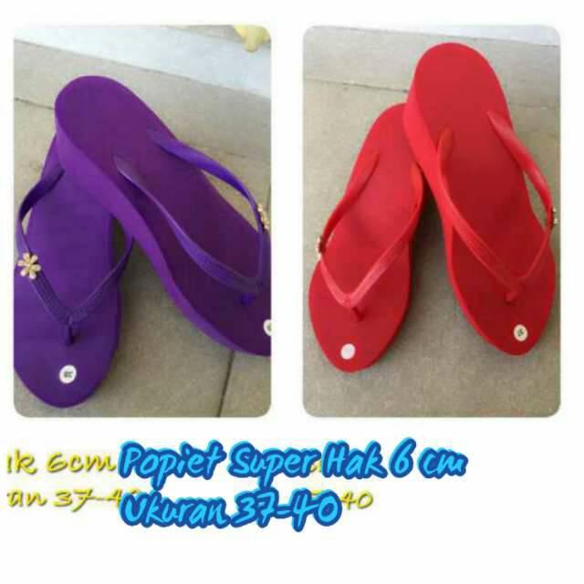 Jual Sandal Popits Kw Super Niluh Shop Tokopedia