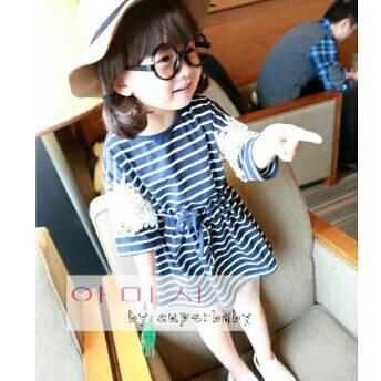 dress korea anak