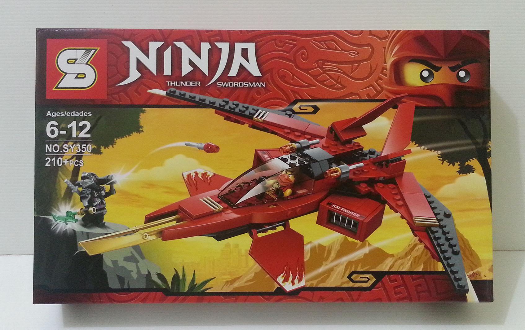 harga lego sy 350 Ninjago pesawat Kai Fighter Tokopedia.com