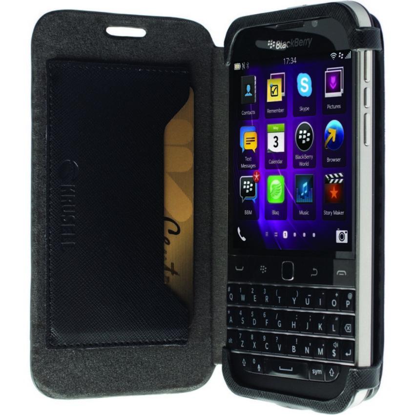 KRUSELL MALMO FlipCase BlackBerry Q20 Classic  BLACK