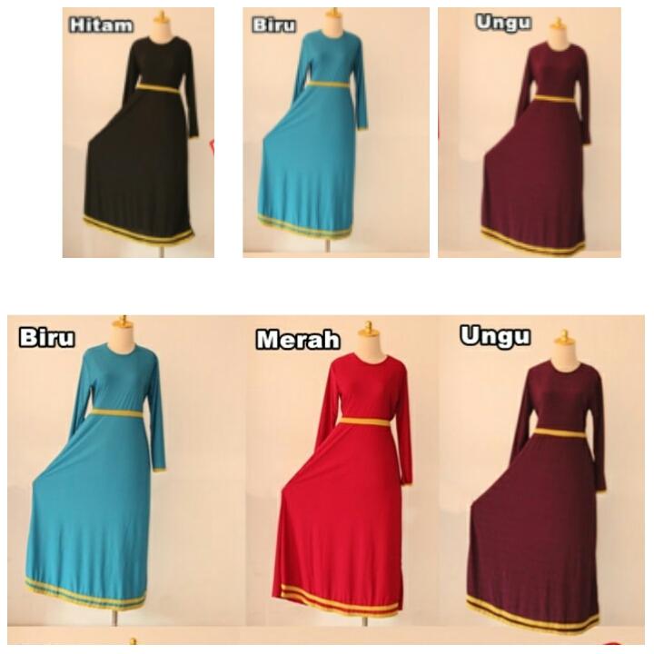 BAJU MUSLIM MURAH MERIAH 094 DRESS / GAMIS / SETELAN / HIJAB
