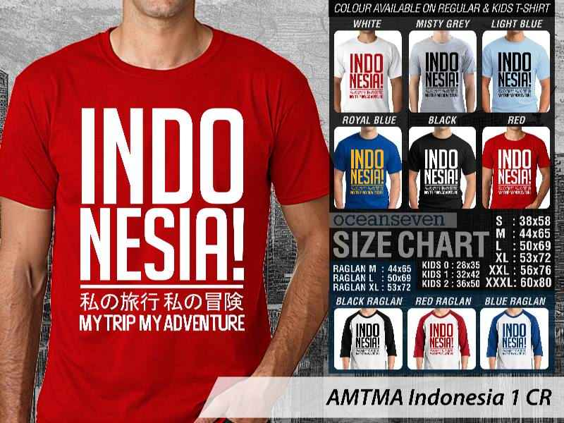 Kaos Distro | KAOS AMTMA Indonesia 1 CR