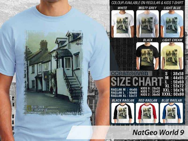 Kaos Distro | KAOS NatGeo World 9